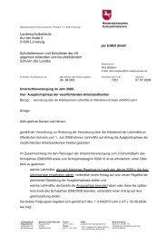Landesschulbehörde Auf der Hude 2 21339 Lüneburg ...