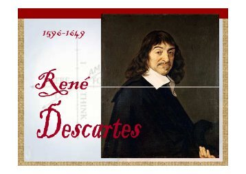 01 Context Filosòfic Descartes - IES Serra Mariola