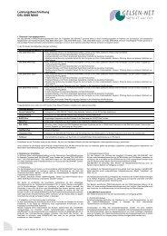Leistungsbeschreibung DSL 6000 MAXI - gelsen-net