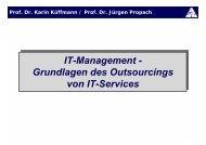 IT-Management - Grundlagen des Outsourcings von IT ... - gelsen-net