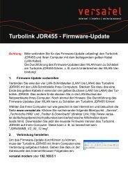 Anleitung Firmware Update JDR 455 - gelsen-net
