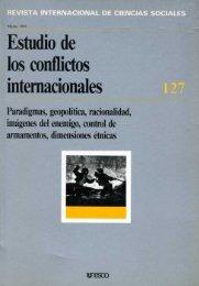 Estudio de los conflictos internacionales ... - unesdoc - Unesco