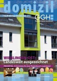 Domizil, Ausgabe März 2013 - GGH