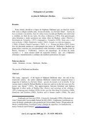 Modapalavra E-periódico Ano 2, n.4, ago-dez 2009, pp. 23 ... - CEART