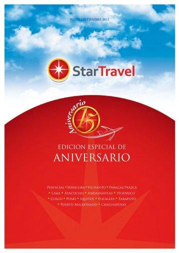 ANIVERSARIO - StarTravel