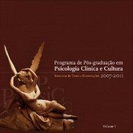 Programa de Pós-graduação em Psicologia Clínica e ... - Index of