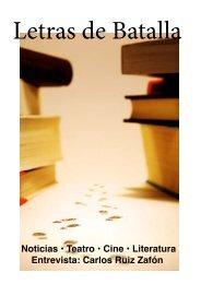 Noticias • Teatro • Cine • Literatura Entrevista ... - Letras de Batalla