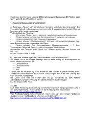 Innere Differenzierung am Gymnasium III - GEW Niedersachsen