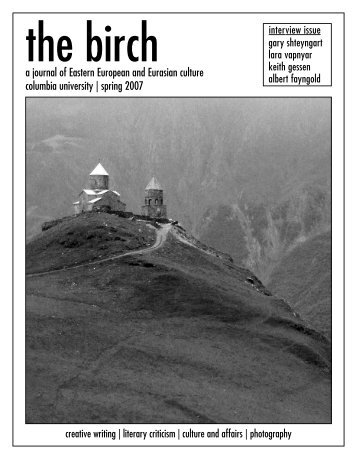 Spring Issue - The Birch