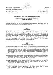 Benutzungs- und Gebührenordnung für das Geschirrmobil der ...