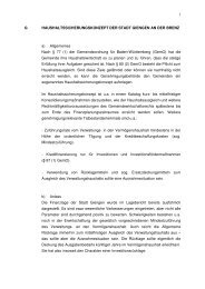 (1) der Gemeindeordnung für Baden-Württe - Stadt Giengen