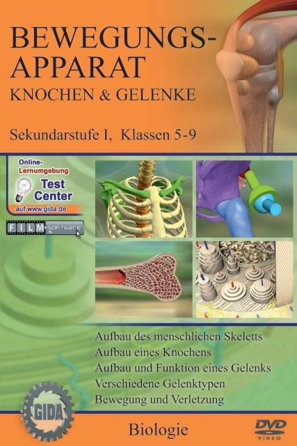 Bewegungsapparat - Knochen & Gelenke - GIDA