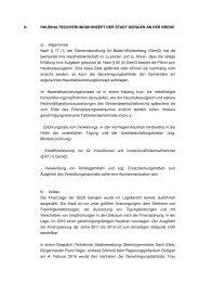 G HAUSHALTSSICHERUNGSKONZEPT DER STADT GIENGEN AN ...