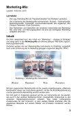 Marketing II - Entscheidung und Umsetzung - GIDA - Seite 5