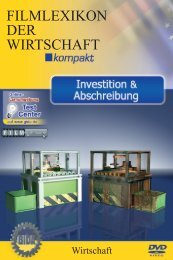 Investition & Abschreibung - GIDA
