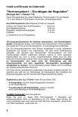 Hormonsystem I - Grundlagen der Regulation - GIDA - Seite 2