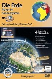 Die Erde – Planet im Sonnensystem – real3D - GIDA
