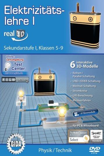 Elektrizitätslehre I – real3D - GIDA