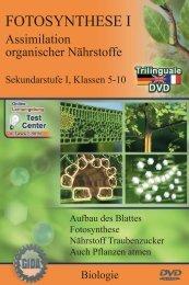 Fotosynthese I - Assimilation organischer Nährstoffe (Trilingual) - GIDA