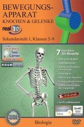 Bewegungsapparat - Knochen und Gelenke - real3D - GIDA