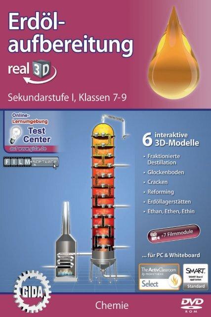 Erdölaufbereitung – real3D - GIDA
