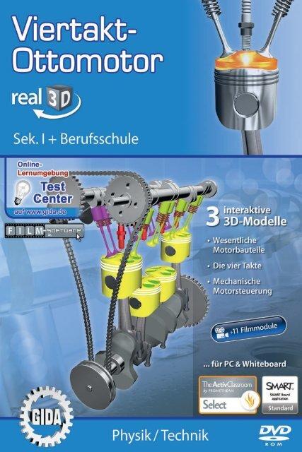 Viertakt-Ottomotor – real3D - GIDA