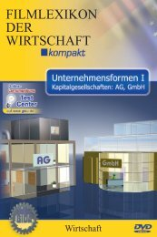 Unternehmensformen I - Kapitalgesellschaften: AG, GmbH - GIDA