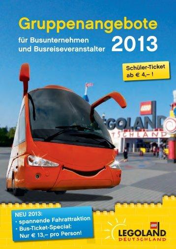 Gruppenangebote LEGOLAND® Deutschland - Stadt Giengen