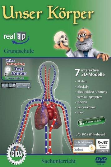 Unser Körper - real3D - GIDA