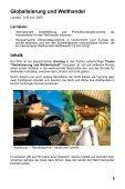 Globalisierung und Weltwirtschaft - GIDA - Page 5