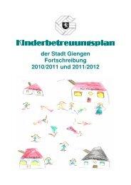 finden Sie den Kinderbetreuungsplan der Stadt Giengen.