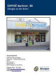 EXPOSÉ Marktstr. 88