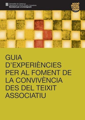 Guia d'experiències per al foment de la - Premsa - Generalitat de ...