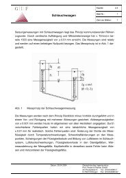 2.3 Schlauchwaagen - Geotechnisches Ingenieurbüro Prof. Fecker ...