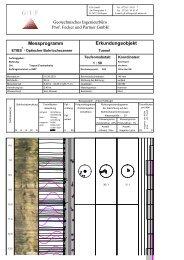 Auswertebeispiel für Bohrlochscanner ETIBS - Geotechnisches ...