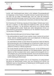 Bohrlochsondierungen - Geotechnisches Ingenieurbüro Prof. Fecker ...