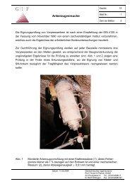 19 Ankerzugversuche - Geotechnisches Ingenieurbüro Prof. Fecker ...
