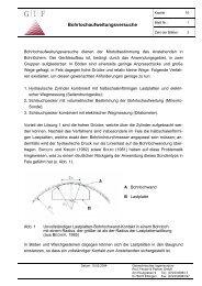 Bohrlochaufweitungsversuche - Geotechnisches Ingenieurbüro Prof ...