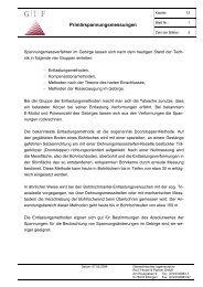 Primärspannungsmessungen - Geotechnisches Ingenieurbüro Prof ...