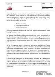2.4 Extensometer - Geotechnisches Ingenieurbüro Prof. Fecker ...