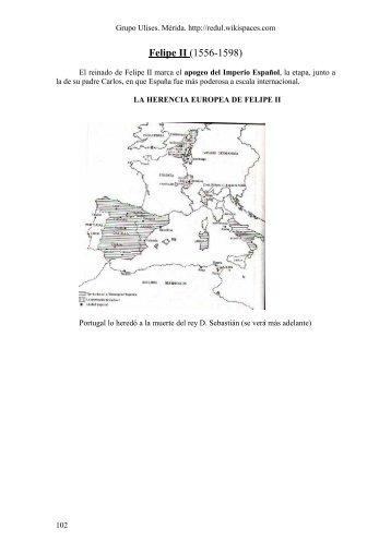 Felipe II (1556-1598) - redul - Wikispaces