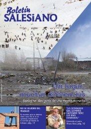 la edición de agosto 2008 del Boletín Salesiano