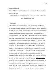 La fiesta del Chivo: una relación entre la literatura y la Ciencia ...