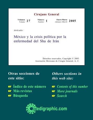 México y la crisis política por la enfermedad del ... - edigraphic.com