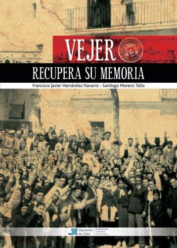 Vejer recupera la memoria - Diputación de Cádiz
