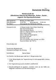 30. März 2009 - Gemeinde Gilching
