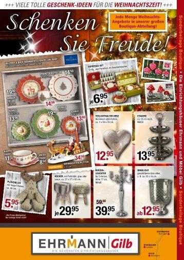 +++ Viele tolle Geschenk-Ideen für die WeIhnachtszeIt!