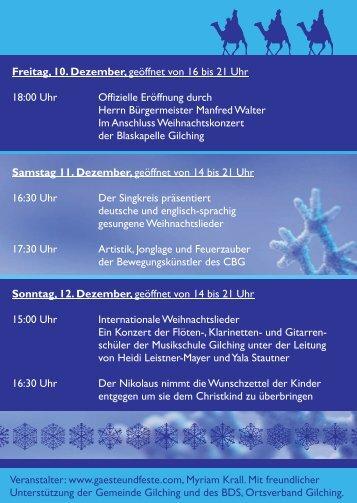 Krall Flyer A6.indd - Gemeinde Gilching