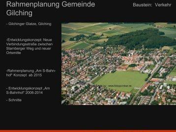 """Verkehrsentwicklung """"Gilchinger Glatze"""" - Gemeinde Gilching"""