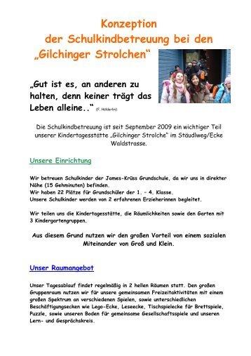Unser Tagesablauf - Gemeinde Gilching